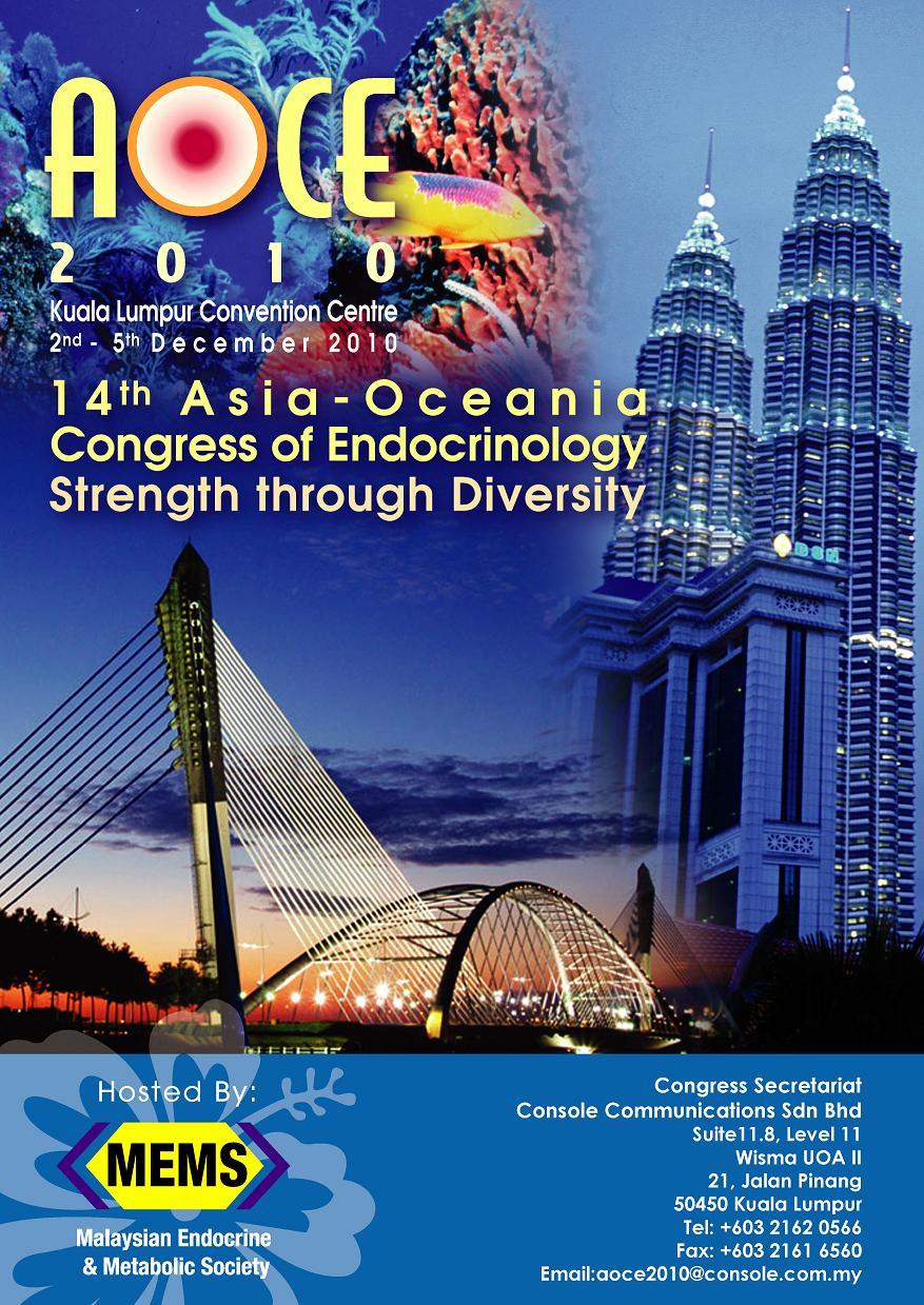 AOCE 2010 - 14th Asia-Oceania Congress of Endocrinology